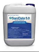 SaniDate 5.0 2.5 gallon Sanitizer/Disinfectant